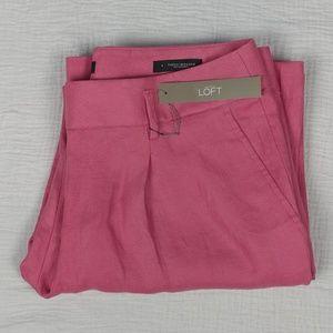 NWT LOFT linen pant - wide leg